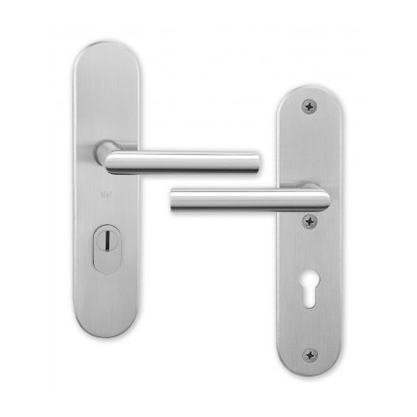 Anti-theft door handles Morgan plate Nomura
