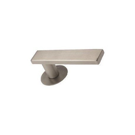 Door handle Entero II stainless steel flat rosettes