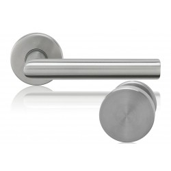 Knob-Door handle Lusy stainless steel