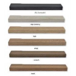 Drewniana część klamki Mimolimit