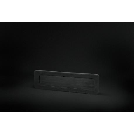 Minimal handle for sliding doors glass