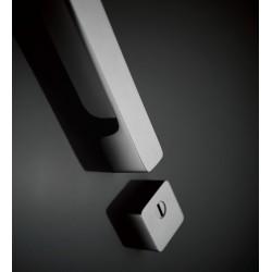 Rozeta bezpieczna Minimal Cr-k czarny chrom szlifowany