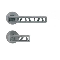 Gałko - klamka Industry Squelette M&T okrągły szyld