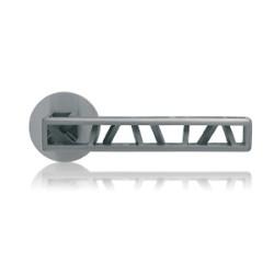 Klamka Industry Squelette M&T okrągły szyld