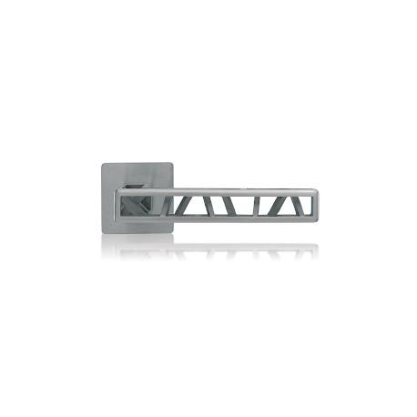 Door handle Industry Squelette round rosette