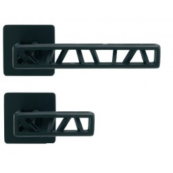 Gałko - klamka Industry Squelette M&T kwadratowy szyld