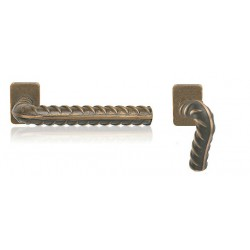 Knob/handle Rocksor for aluminium, steel and pcv doors