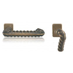 Knob/handle Rocksor U for aluminium, steel and pcv doors