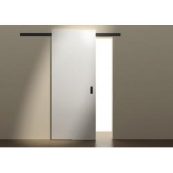 System przesuwny Minima do drzwi drewnianych 2m czarny mat 12mm