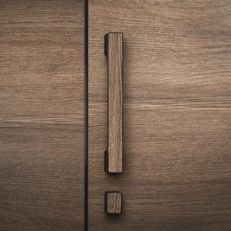 Uchwyt MINIMAL do drzwi drewnianych WC/łazienka