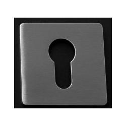 Kwadratowa rozeta magnetyczna na wkładkę z zamkiem