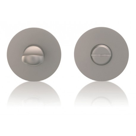 Okrągłe pokrętło WC z rozetą magnetyczną i zamkiem