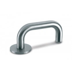 Door Handle Lusy stainless steel to the door aluminum and steel