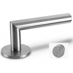 Door Handle Lusy stainless steel to the door aluminum and steel